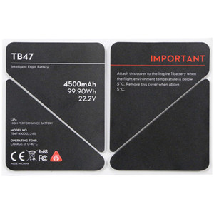 DJI Battery Insulation Sticker for TB47 Battery