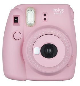 Fujifilm instax mini 8+ Instant Film Camera (Strawberry)
