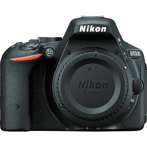 Nikon d5500 dslr camera %28body only  black%29