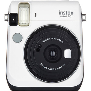 Fujifilm instax mini 70 Instant Film Camera (Moon White)