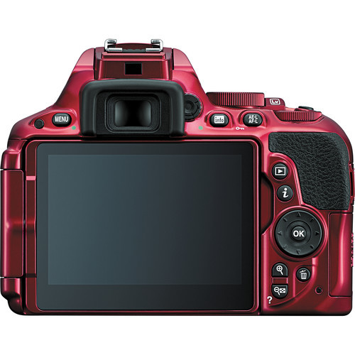 Nikon d5500 dslr camera %28body only  red%29 2