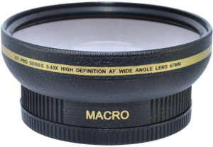 67mm 0.43x HD Wide Angle Lens