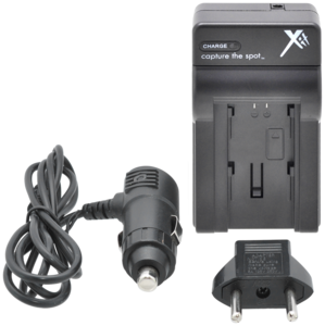 Worldwide AC/DC Travel Charger 110-220v for Sony NP-FV/NP-FP/NP-FH Series