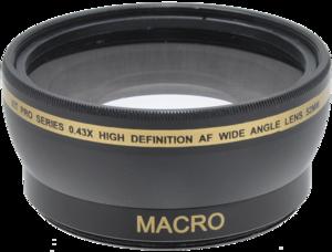 Pro Series 0.43x High Definition AF Wide Angle Lens 52mm