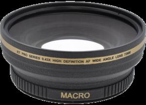 Pro Series 0.43x High Definition AF Wide Angle Lens 72mm