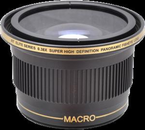 XIT Elite Series 0.38x Ultra Super High Definition Panoramic Fisheye Lens - 52/58mm