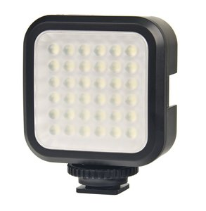 Digital Compact LED Video Light (Black)