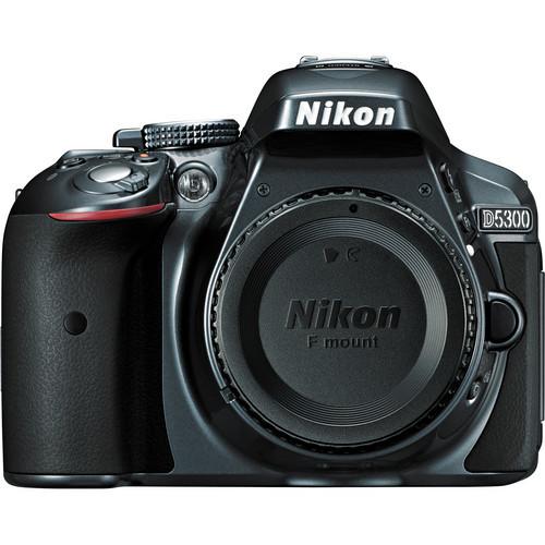 Nikon d5300 dslr camera %28body only  gray%29