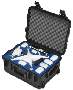 Go Professional DJI Phantom 4 PRO Wheeled Case (Case Only)