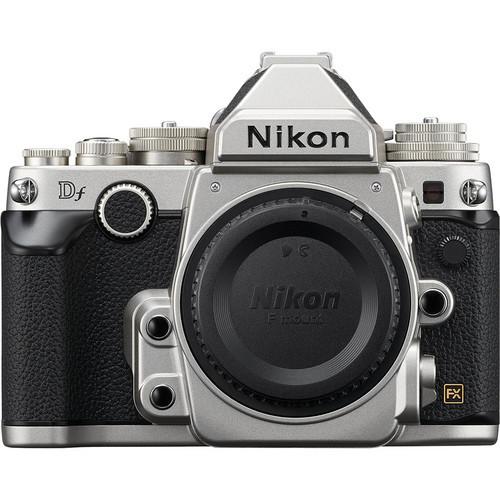 Nikon df dslr camera %28body only  silver%29