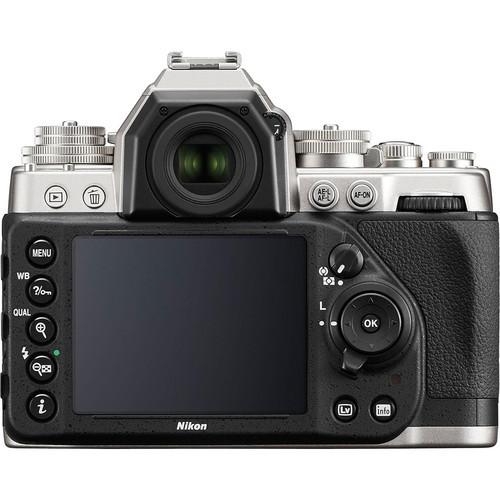 Nikon df dslr camera %28body only  silver%29 2
