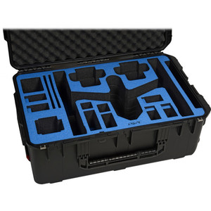 Go Professional Cases Watertight Hard Case with Wheels for DJI Inspire 1 in Travel Mode