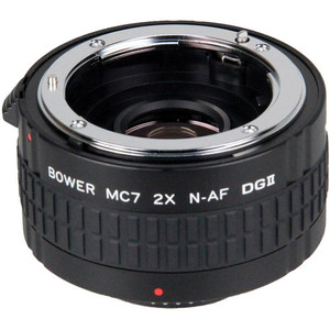 Bower 2x DGII Teleconverter with 7 Elements for Nikon F