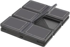 Memory Card Plastic Wallet