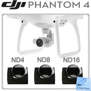 DJI Phantom 4 Neutral Density Filter Kit (ND4, ND8, ND16)