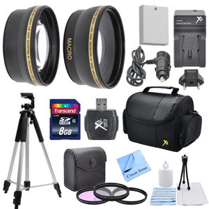 Ultimate Accessory Kit For The Canon G11 G12 G10 Kit Includes 8GB Memory Card...