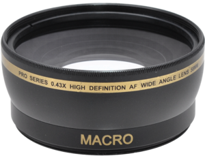 Pro Series 0.43x High Definition AF Wide Angle Lens 58mm