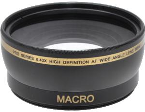 Pro Series 0.43x High Definition AF Wide Angle Lens 58mm