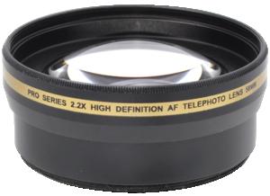 Pro Series 2.2x High Definition AF Telephoto Lens 58mm