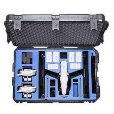 Watertight Hard Case with Wheels for DJI Inspire 1 in Landing Mode