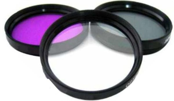 FLD Fluorescent Natural Light Color Correction Filter for Canon EF 50mm f//1.8 STM Lens
