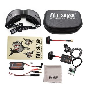 FatShark Teleporter V5 FPV 5.8G Video Goggles W/ Head Tracking (Transmitter and 700L CMOS Camera Included)