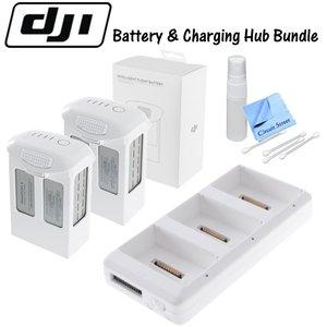 DJI Phantom 4 Battery Charging Hub Bundle: Includes 2 Phantom 4 Intelligent Flight Batteries. Charge up to 3 Phantom 4 Batteries!