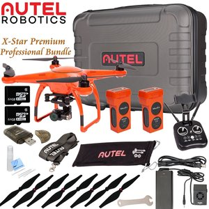 Autel Robotics X-Star Premium Drone Advanced Bundle (Orange)