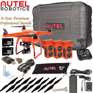 Autel Robotics X-Star Premium Drone Professional Bundle (Orange)