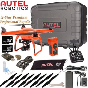Autel Robotics X-Star Premium Drone Beginners Bundle (Orange)