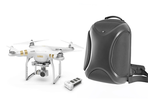 DJI Phantom 3 Professional with 4K Camera and Battery Bundle with Multifunctional Backpack
