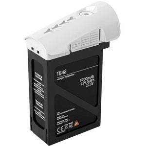 DJI TB48B Intelligent Flight Battery for Inspire 1 (129.96Wh, White)