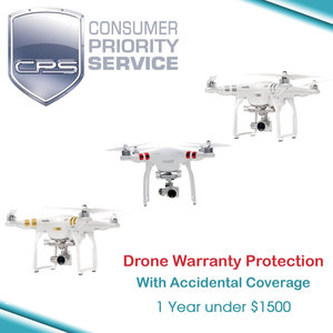Drone Warranty Coverage (1 Year Under $1500)