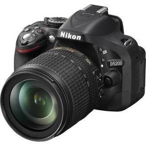 Nikon D5200 DSLR Camera with AF-S DX NIKKOR 18-105mm f/3.5-5.6G ED VR Lens
