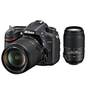 Nikon D7100 DSLR Camera with 18-140mm and 55-300mm Lenses