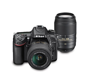 Nikon D7100 DSLR Camera with 18-55mm and 55-300mm Lens