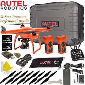 Autel Robotics X-Star Premium Drone Advanced Bundle (Orange) by Autel Robotics