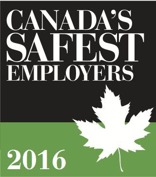 Canada's Safest Employeers 2016