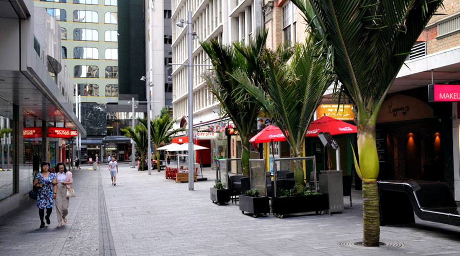 Auckland Open Space Project