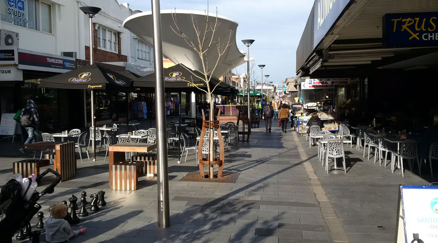 Village Revitalized with WSUD and Stratacell