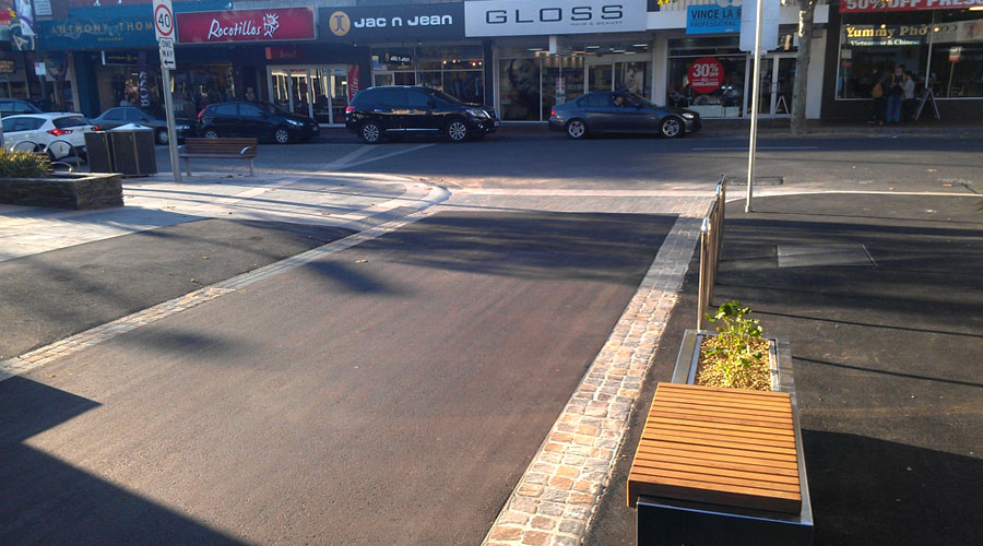 frankston creates safer walking lanes