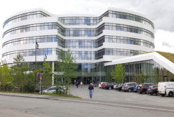 Novo Nordisk's new headquarters in Bagsvaerd