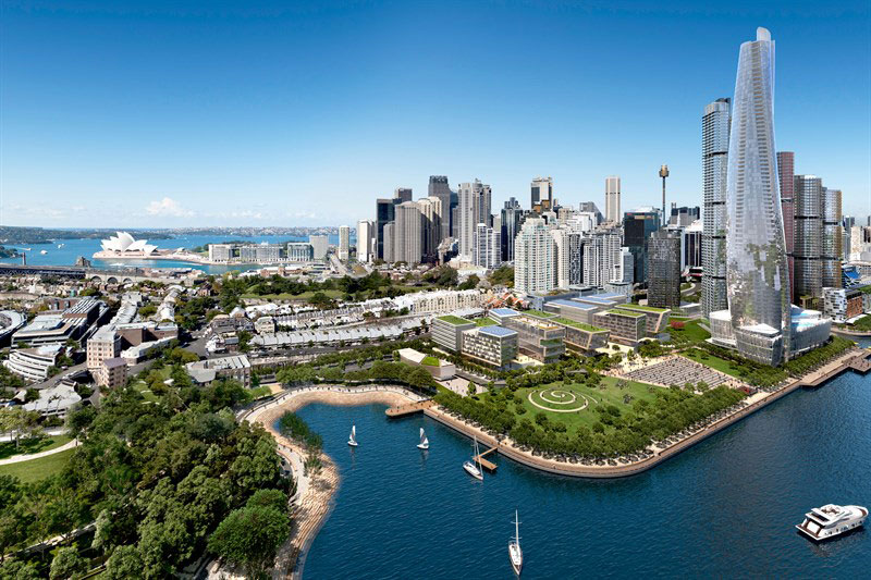artist impression of central barangaroo virtual ideas