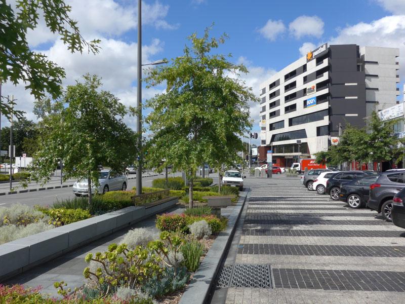 Lonsdale Street green boulevard