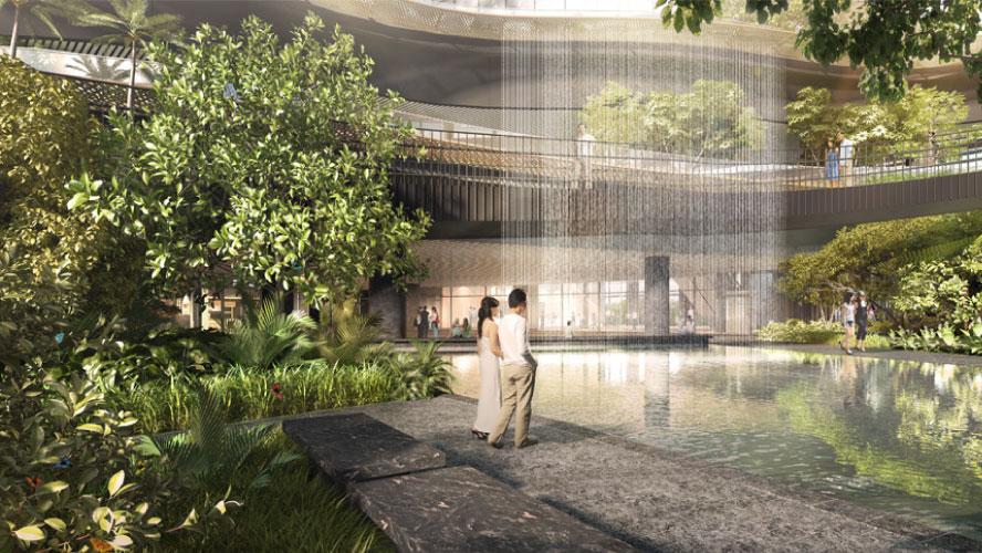 singapore high rise apartment