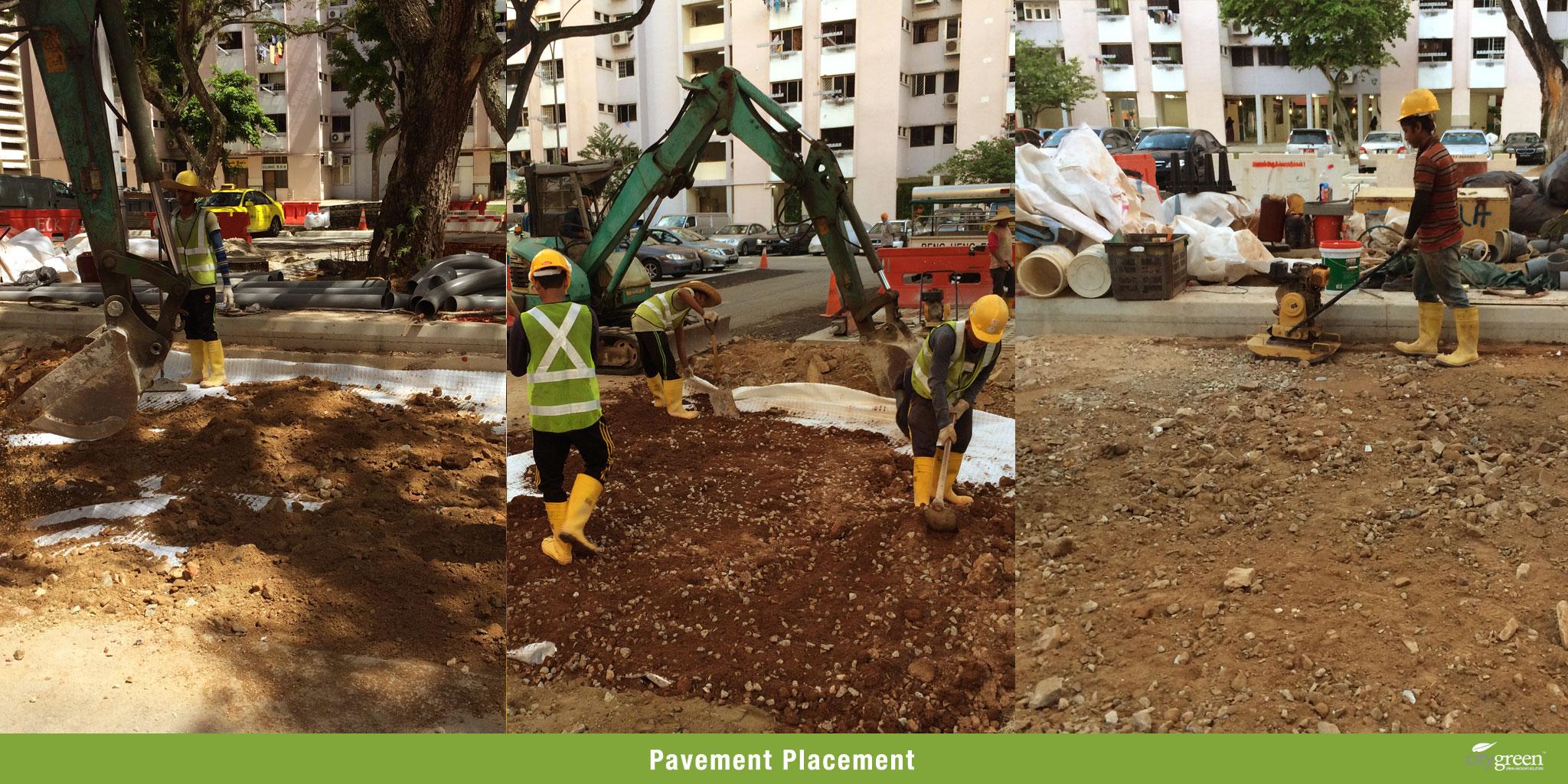 Pavement-Placement