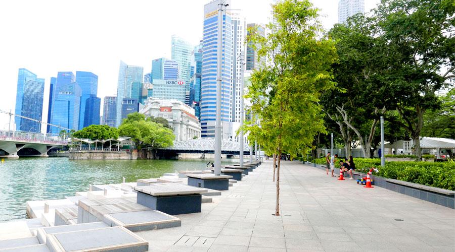 Civic District in Singapore - Walk Down Memory Lane | Citygreen