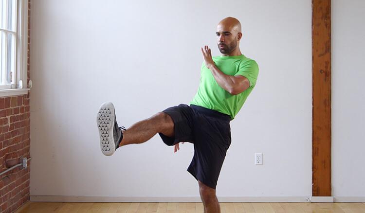 10-min Low Impact Kickboxing