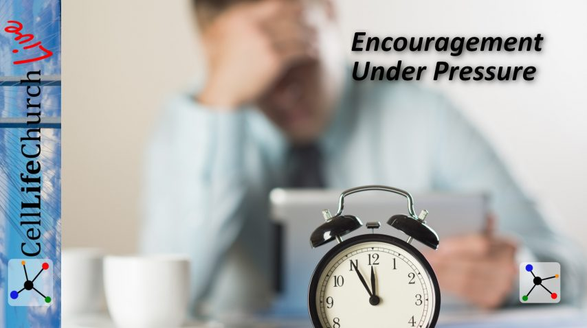 Encouragement Under Pressure
