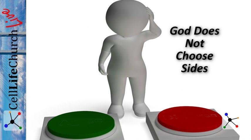 God Does Not Choose Sides
